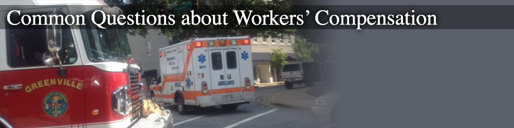 frequent questions about workers' compensation